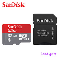 100 Original SanDisk Micro SD SDHC Or SDXC UHS I Memory Card 32GB 80MB S Class