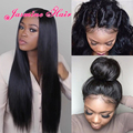 8A Brazilian Full Lace Wigs Virgin Hair Glueless Full Lace Human Hair Wigs for Black Women Straight Lace Front Human Hair Wigs