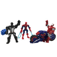 Avengers 3 Iron Man Spider Man Tom Holland DC Comics PVC Action Figure Collectible Model Toy Doll L2057