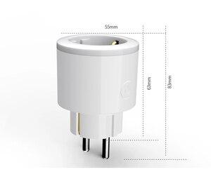 Image 5 - 2 pcs Pacchetto Caricatore Astuto per UE Presa Intelligente Wifi timer switcher Monitoraggio della Potenza Energy Saver Funziona Con Google Per La Casa mini Alexa