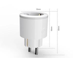 Image 5 - 2 pcs Pacote Carregador Inteligente para a UE Wifi Tomada Inteligente switcher timer de Monitoramento de Energia De Poupança De Energia Funciona Com O Google Em Casa mini Alexa