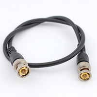 2PCS Video 0 5 Meters Gold Plated BNC Jumper American American Cable Finished Machine Pressure Monitoring