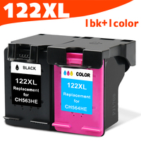2 Pcs Lot Ink Cartridge Compatible For HP 122 XL For HP Deskjet 1000 1050 2000