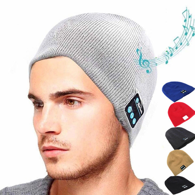 Bluetooth Earphone Hat for iPhone Samsung Android Phones Men Women Winter Outdoor Sport Bluetooth Stereo Music Hat Wireless