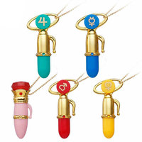 Sailor Moon Disguise and Transformation Pen Mascot Charm Gashapon Set of 5 100% Original