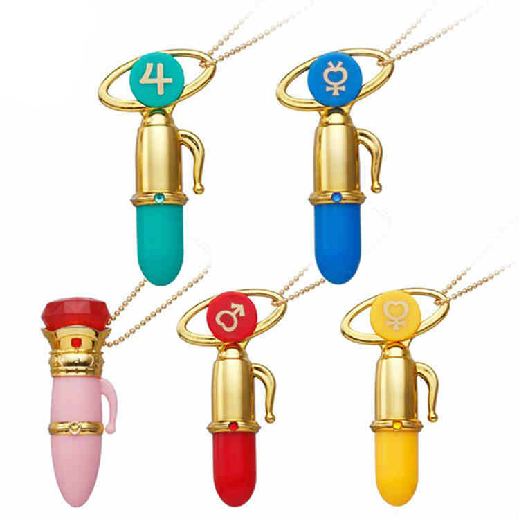 Sailor Moon Disguise and Transformation Pen Mascot Charm Gashapon Set of 5 100% Original sailor moon stained crystal light gashapon set of 4 japan anime mascot 100% original