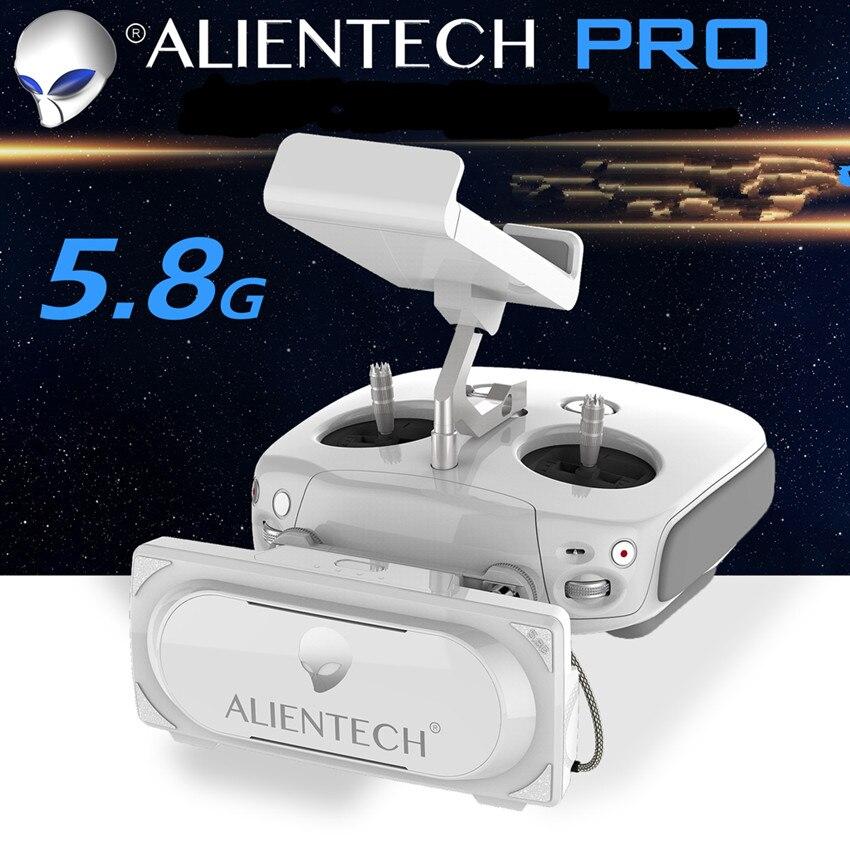 ALIENTECH 3 Pro 5.8g Antenne Signal Booster Range Extender pour DJI Mavic 2 Pro/Phantom 4 V2.0/ inspirer quadrocopter Accessoires
