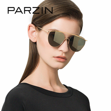 PARZIN Quality Metal Frame Pilot Sunglasses Unisex and Couple Coating Cool Aviator Sun Glasses For Driving Summer Accessories