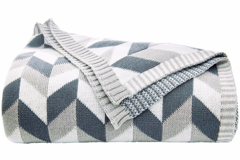 2018 New Wave Children knitted Blankets Sleep Wish Plaids Bedspreads Travel Blanket Bedding Throws on Sofa/Bed/Car Portable
