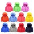 Thin Super Light Foldable Kids Boys/Girls Down Jacket Duck Down White 80% Hooded Winter Coats Outerwear Clothes CO