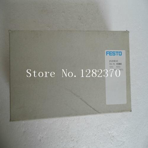 [SA] New original authentic special sales FESTO solenoid valve J-5/2-D-3-C spot 151865 [sa] new original authentic special sales smc solenoid valve vqz3121 5yz1 c8 spot