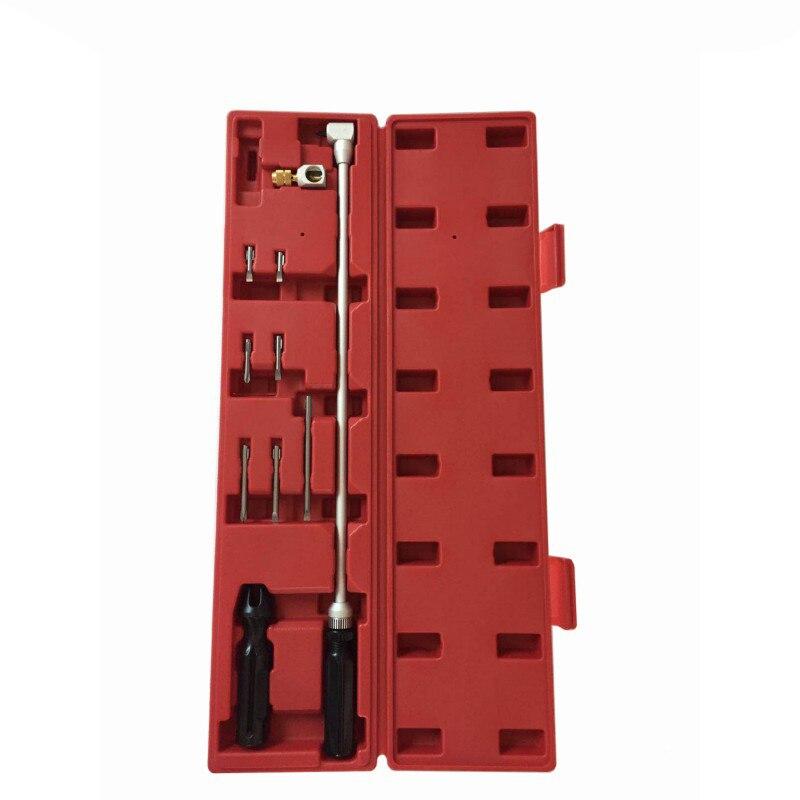 90 градусов коническая отвертка угловой Набор отверток для Moto инструмент для настройки карбюратора гаечный ключ - 5