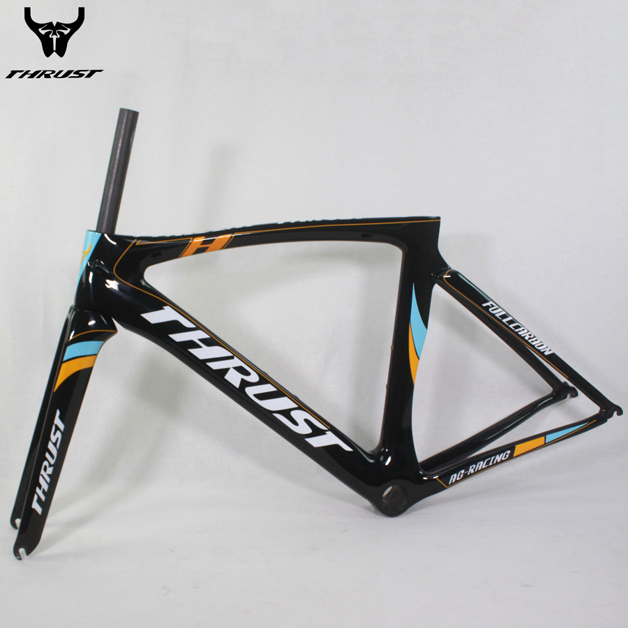 ✓THRUST New arrival T1000 carbon bike frame glossy 2017 carbon road ...