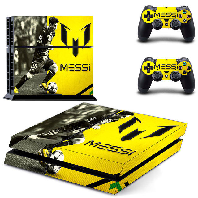 PS4 Skin Sticker Decal Vinyl for Sony Playstation 4 Console and 2 Controllers PS4 Skin Sticker