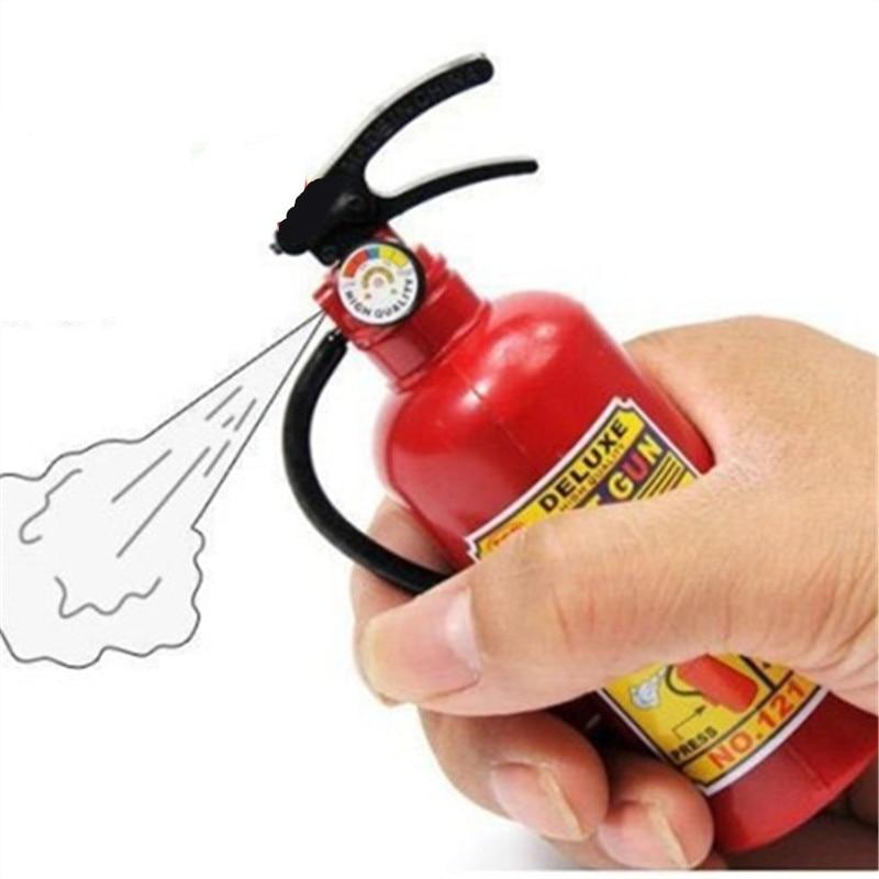 Prank supplies novelty products funny gadgets waterpistool plastic Fire extinguisher water gun gag children water summer toys