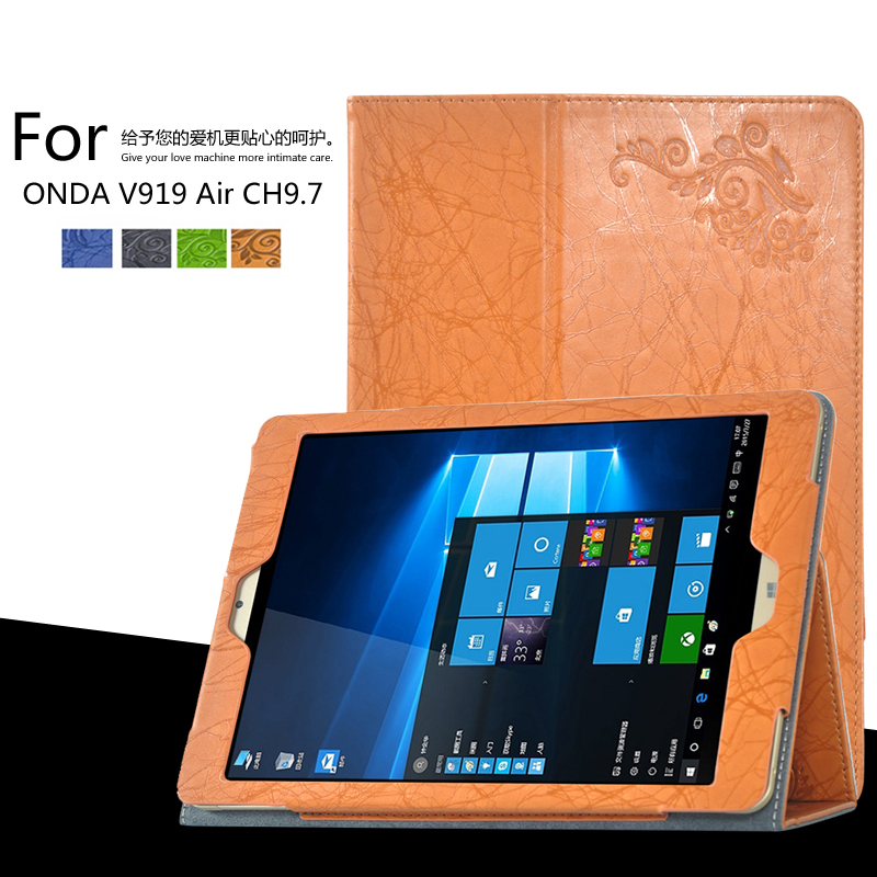 For ONDA V989 AIR / V919 AIR / V919 AIR CH 9.7 inch Tablet Printing Pattern Stand Cover Protective Print Flower Leather Case for onda v989 air v919 air v919 air ch 9 7 inch tablet printing pattern stand cover protective print flower leather case