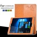 Para ONDA V989 AIR/V919 AR/V919 AR CH 9.7 polegada Tablet Impressão Padrão Suporte Capa Protetora de Couro Da Cópia Da Flor caso