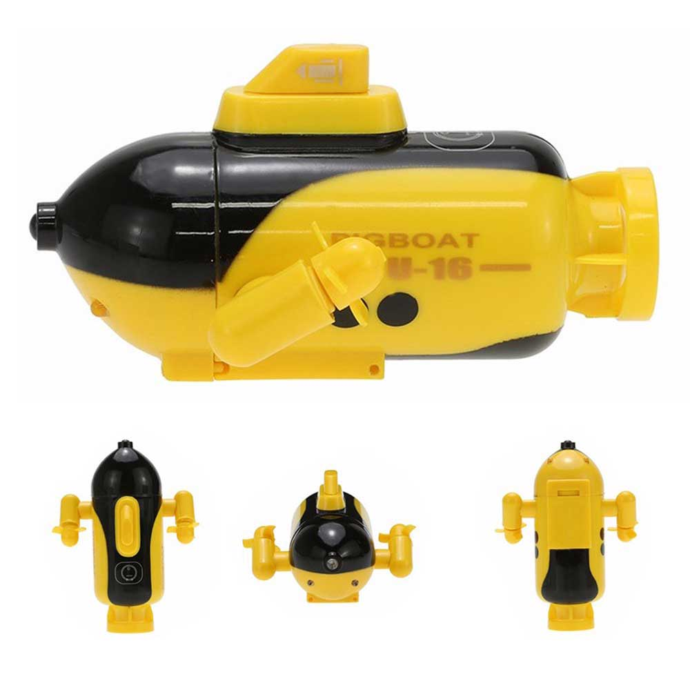 Image 5 - Mini RC Submarine Remote Control Under Boat Submarine Bath Toys Bathtub Pools Lakes Toys Model Electric Kids Toy-in RC Submarine from Toys & Hobbies