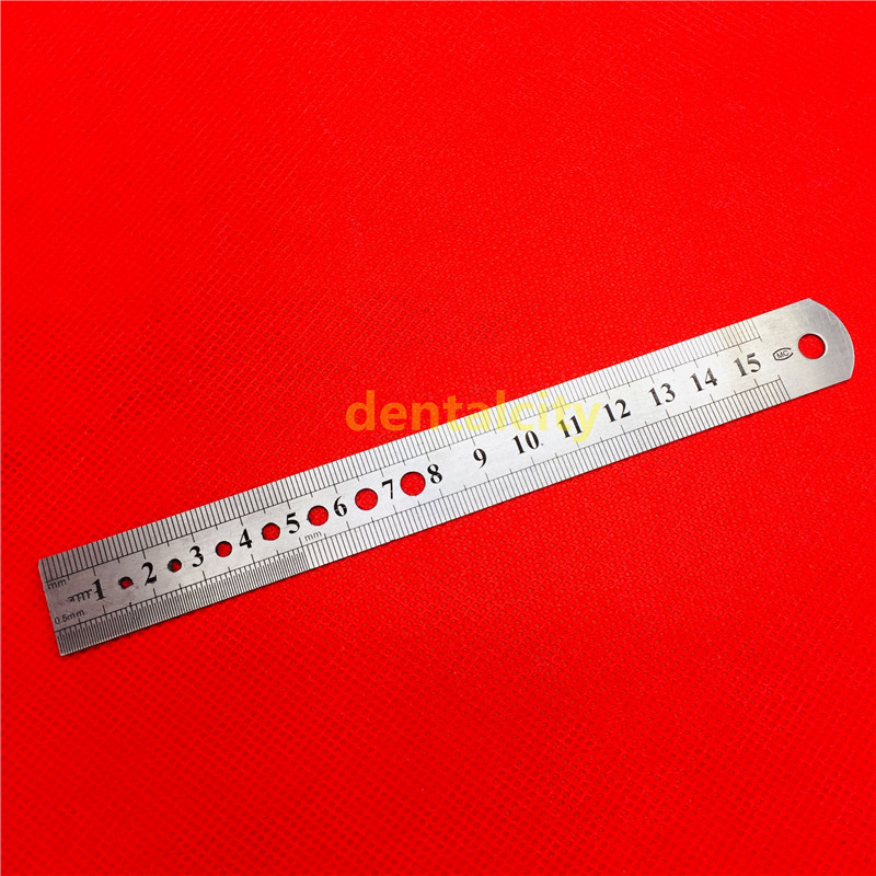 High Quality Steel Orthopedics Ruler Measuing Rulers Orthopedics Veterinary Instrument