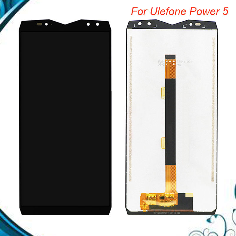 100% Original For <font><b>Ulefone</b></font> <font><b>Power</b></font> <font><b>5</b></font> LCD Display and Touch <font><b>Screen</b></font> Assembly 6.0'' For <font><b>Ulefone</b></font> <font><b>Power</b></font> <font><b>5</b></font> Replacement IN STOCK image