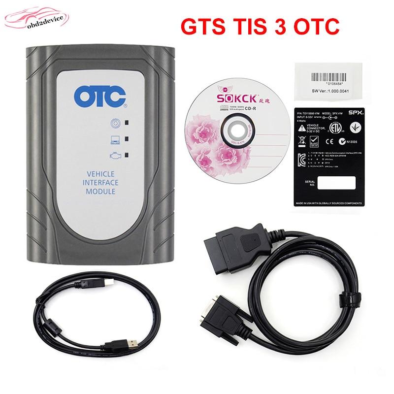 Auto Scanner OTC TIS3 per Toyota Scansione IT3 Globale Techstream VIM Strumento di Diagnostica OBD migliore di quello che HA 2 di trasporto libero