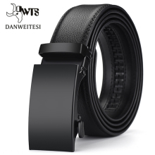 [DWTS]Genuine Leather Belts For Men Automatic Male Belts Cum