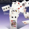 Card Fountain From Glass Cup Remote Control - magic tricks,mentalism,Illusion,gimmick,stage,accessories,card,wholesale