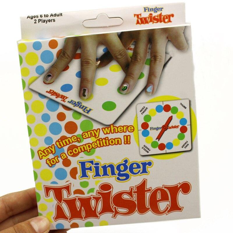 2018 Finger twister! Танец на пальцах Семья Игрушечные лошадки Настольная игра для детей и взрослых и детей игры с коробкой ...
