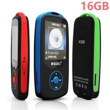 RUIZU X06 Bluetooth Reproductor de MP3 16G 1.8 Pulgadas de Pantalla 100 horas Alta Calidad Sin Pérdida de Sonido FM Walkman Grabadora De Voz + Regalo libre