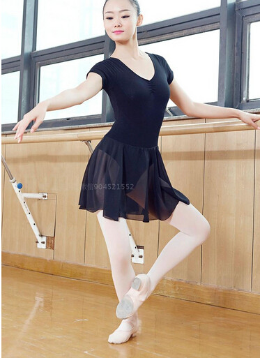 aa0bc7bf66 Free shipping Black Purple pink S XL Dancewear Ballet Leotard ...