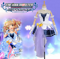 New Arrival Custom Made The Idolmaster 2 Cinderella Girls Mio Honda Cosplay Costume