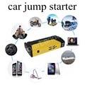 Желтый 12000 мАч Автомобиль аварийный Прыжок Стартер 4 USB Чрезвычайных Зарядное Устройство для Бензин/Дизель Автомобили jumper booster с насос