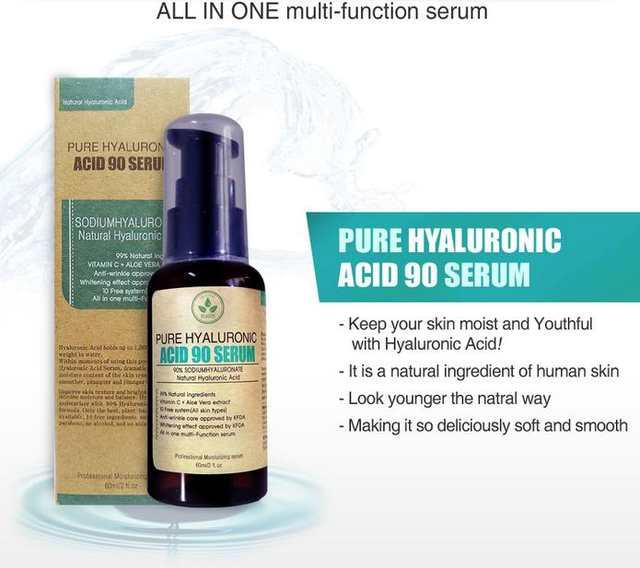 US $22 32 23% OFF|Korean Cosmetics PURITO Pure Hyaluronic ACID 90 Serum  60ml Face Cream Skin Care Anti Wrinkle Whitening Facial Serum-in Facial  Self