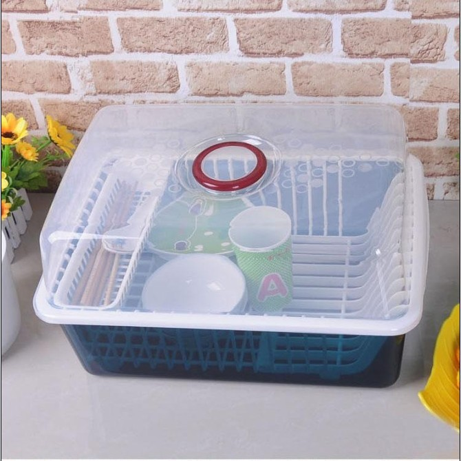 Multifunctional Cutlery Storage Box With Lid Drip Dish Rack Cupboards Filled Drain Basket On Aliexpress Alibaba Group