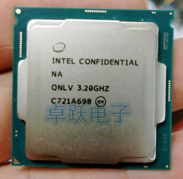 US $285 0 |QNLV i7 8700K ES CPU INTEL 6 core 12 threads 3 2Ghz,Support Z370  and other eight generation motherboards, do not pick the board-in CPUs