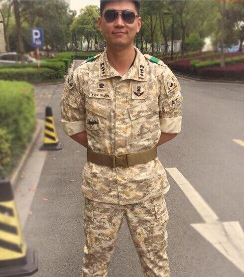 Costume de Camouflage uniforme militaire costume de Combat de désert numérique costume tactique pour les hommes