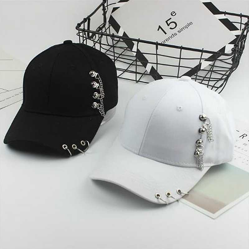 2a5c03b9c91 Adult Unisex Hip Hop Hat BTS Adjustable Iron Ring Baseball Caps Fashion  Kpop Snapback Cap Fitted