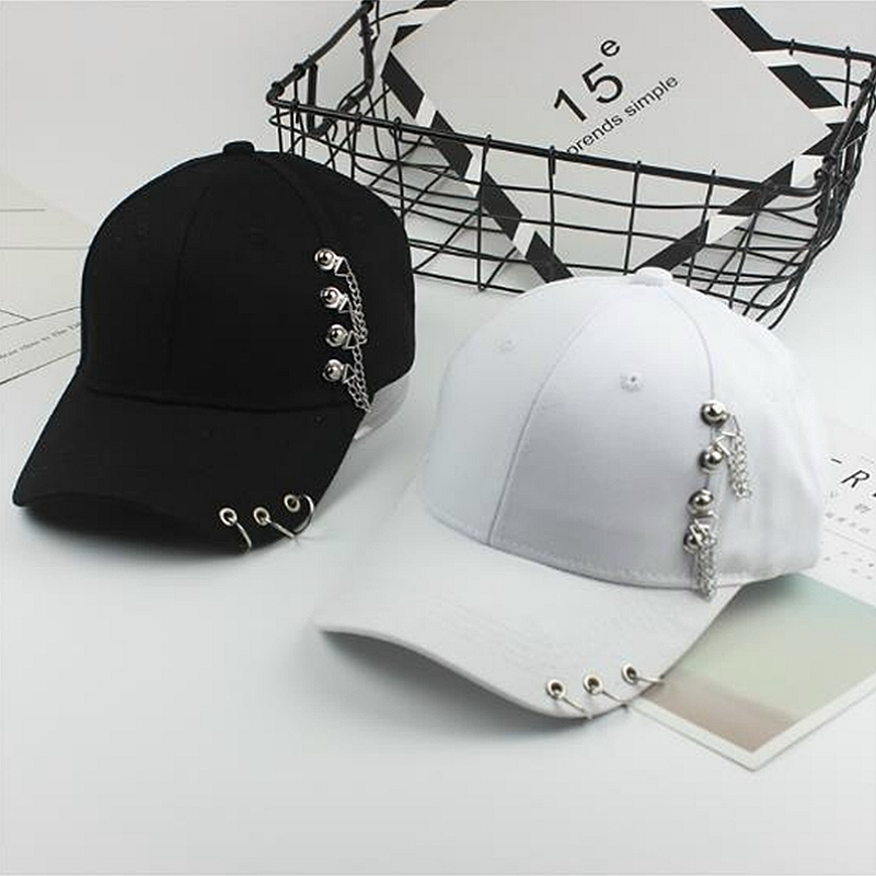 Adult Unisex Hip Hop Hat BTS Adjustable Iron Ring   Baseball     Caps   Fashion Kpop Snapback   Cap   Fitted Dad Hats For Women LTT9601