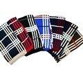 Красочные сетки шарф британский стиль вязание шарфы двухслойной дуплекс шарф для детей мальчиков девочек красочные сетки шарф