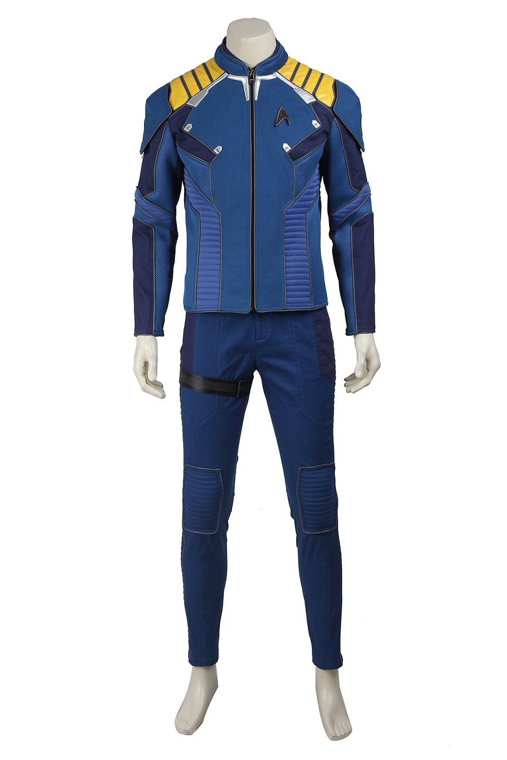 Star Trek Cosplay Beyond James Tiberius Kirk Jim Commander Captain Costume For Adult Men Full Set Outfit Clothing Custom Made