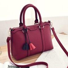 ขนาด31*21*13cm2016ใหม่ธุรกิจหญิงfashion handbag.ความจุขนาดใหญ่puกระเป๋าสะพายสีทึบ.