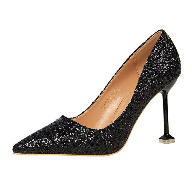 4Cm Platform Thin High Heels 2018 Women Sandals Pumps Sexy