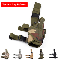 Tactical Tornado Nylon Leg Holster Right Handed Military Pistol Gun Shooting Combat Leg Holster Adjustable Nylon