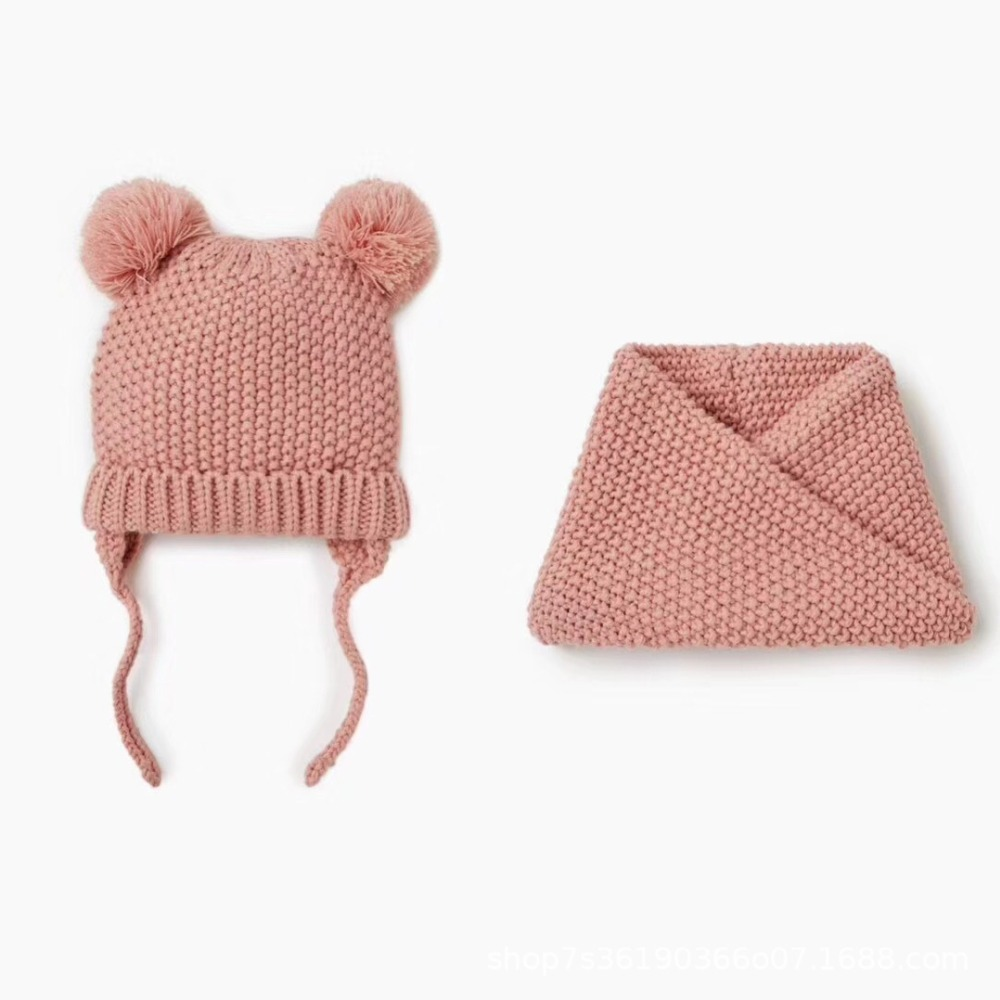 Schal Winter Kleidung & Accessoires Freundlich Kinder Set Mütze