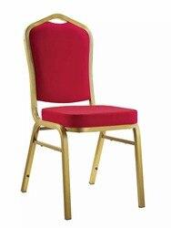 Cadeiras empilháveis do restaurante das cadeiras da cadeira do banquete metal 5 pc/caixa