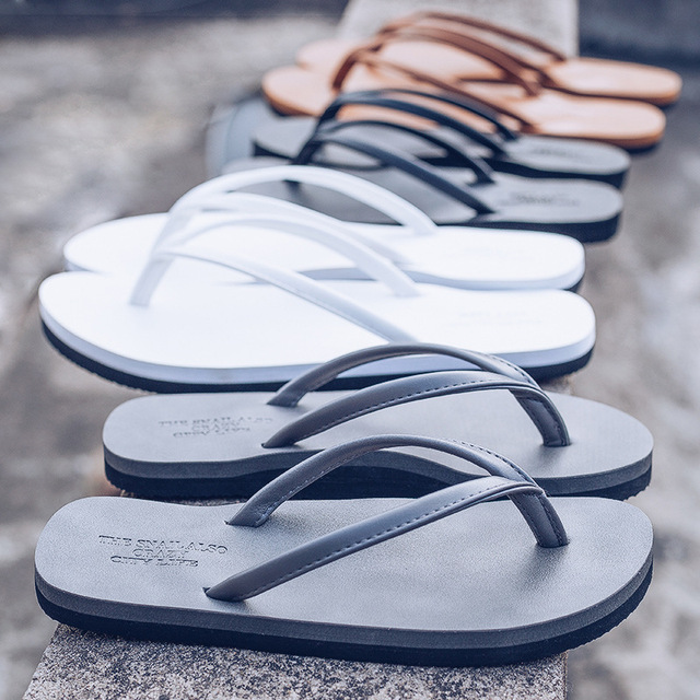 Casual Solid Color Unisex Beach Slippers 1