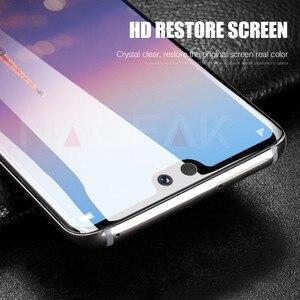 Image 5 - 3Dフル保護ソフトヒドロゲルhuawei社P20 lite P20プロカバースクリーンプロテクターフィルム名誉9 8 lite v10映画ではないガラス