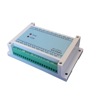 16-channel isolation pt100 thermal resistance temperature acquisition module temperature transmitter to 485 port MODBUS protocol
