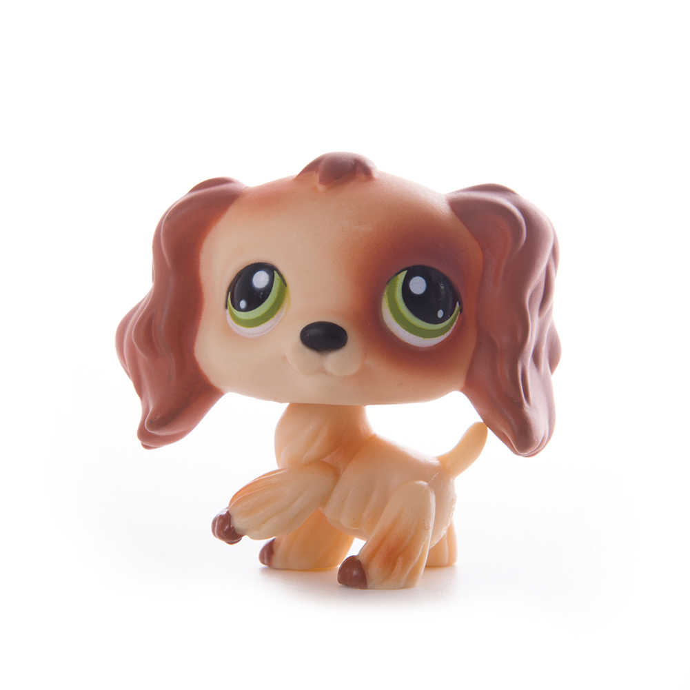 Rare littlest pet shop lps brinquedos coleção cão doga GREAT DANE branco 750 577 marrom 817 original da antiga figura animal presentes criança