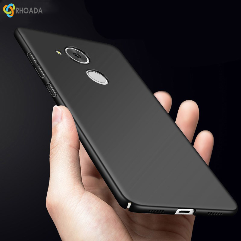 RHOADA For Huawei Honor 6c Pro Case 360 Protection Slim Matte Hard Plastic Back Cover for Huawei V9 Play Phone Cases Housing